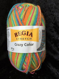 Regia Stretch Color 7% Polyester,23% Polyamid, 70% Schurwolle, 50g/200m, N 2-3