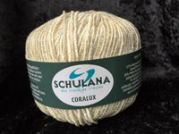 Coralux 61% Cotton, 38% Polyester, 1%Metalisch Poly., 50g/90m, N 8-8