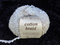 cotton braid 68% Cotton, 22% Viscose, 10% Leinen, 50g/50m, N 8-12